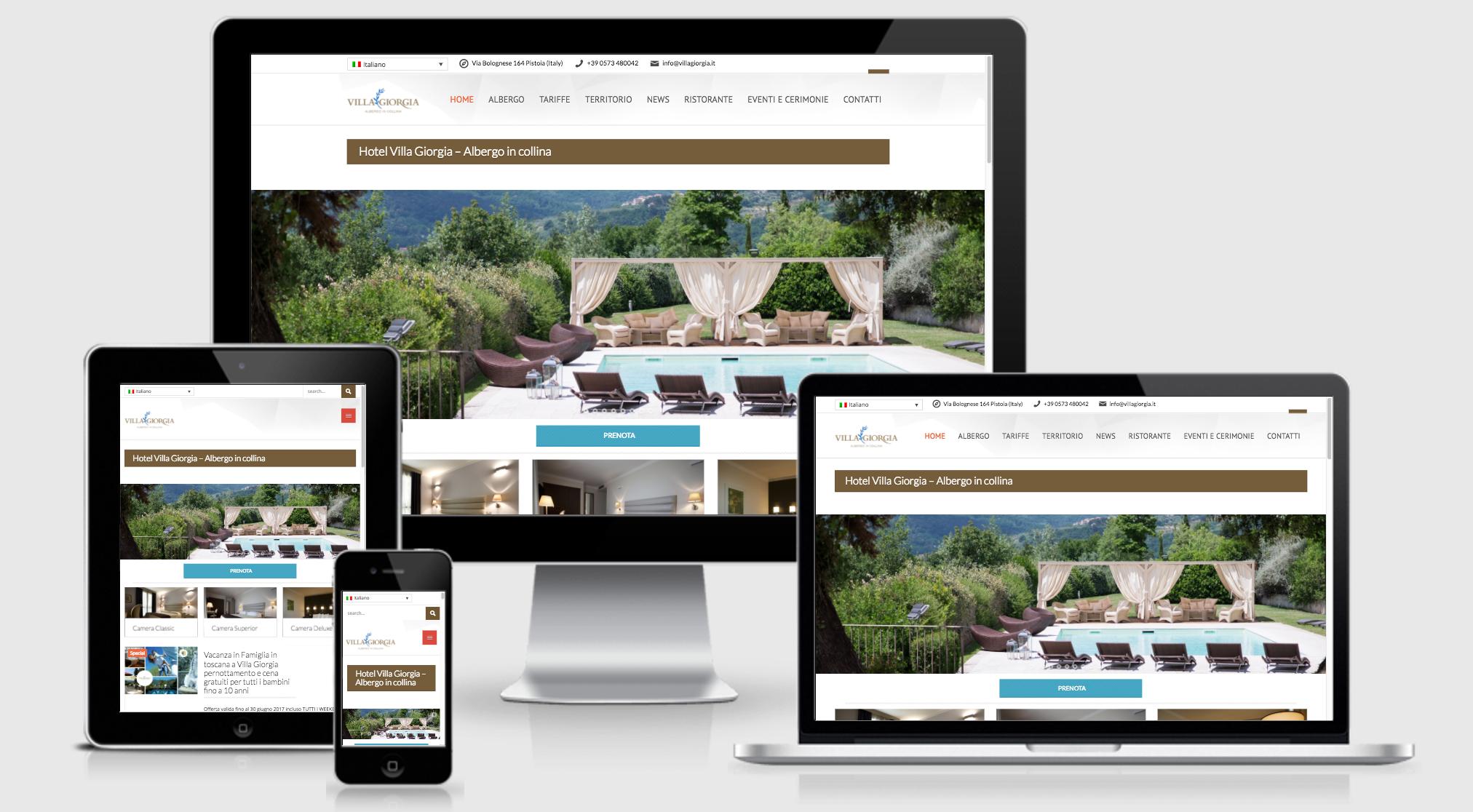 Sito web villa giorgia